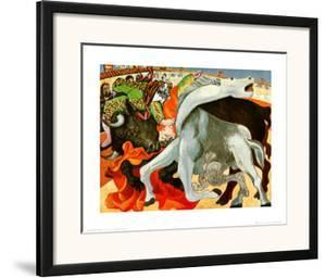 The Bullfight by Pablo Picasso