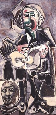 The Guitarist by Pablo Picasso