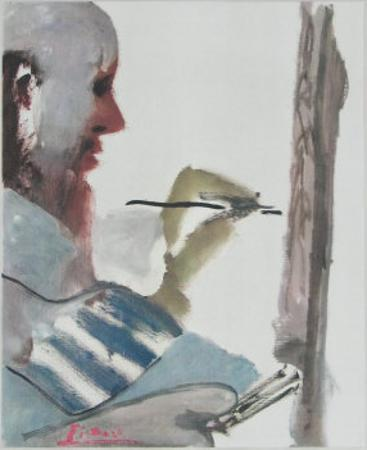 The Painter at Work by Pablo Picasso