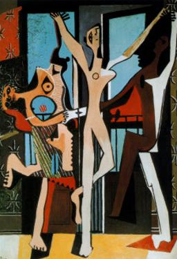 Three Dancers, c.1925 by Pablo Picasso