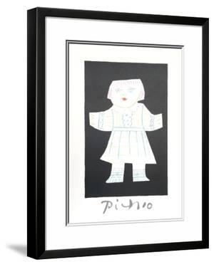 Une Poupee Decoupee by Pablo Picasso