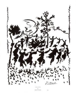 Vive la Paix by Pablo Picasso