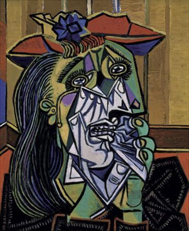 Weeping Woman, 1937 by Pablo Picasso