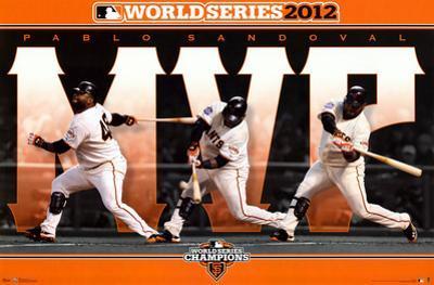 Pablo Sandoval - San Francisco Giants 2012 World Series MVP