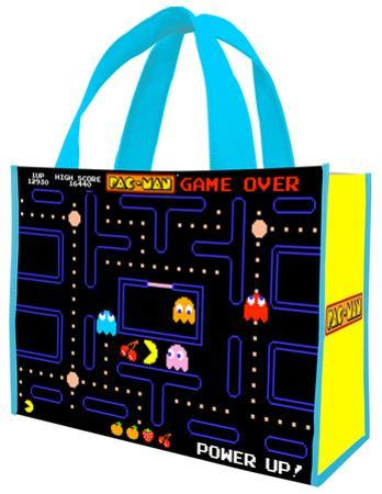 Pac-Man Large Recycled Shopper