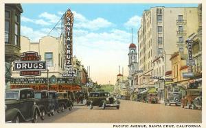 Pacific Avenue, Santa Cruz