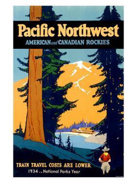 Pacific Northwest Railroad Train