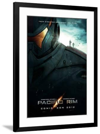 Pacific Rim (Idris Elba, Charlie Hunnam, Rinko Kikuchi) Movie Poster--Framed Poster