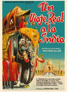 A Real Journey To India - Queen Elizabeth's trip through India, Pakistan, Nepal and Persia by Pacifica Island Art