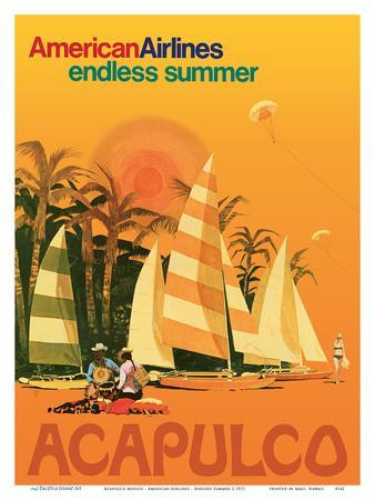 Acapulco Mexico - American Airlines - Endless Summer