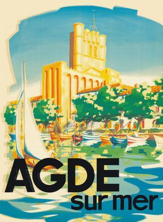 Agde, France - On the Sea (Sur Mer) - Cote D'Azur - The French Riveria