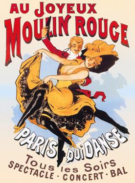 Au Joyeux Moulin Rouge (Happy at the Moulin Rouge) by Pacifica Island Art