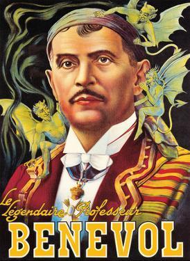 Benevol (Francisco Benevolo) - The Legendary Professor by Pacifica Island Art