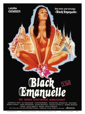Black Emanuelle in Bangkok - A Touch of Exotic Sensuality - Starring Laura Gemser by Pacifica Island Art
