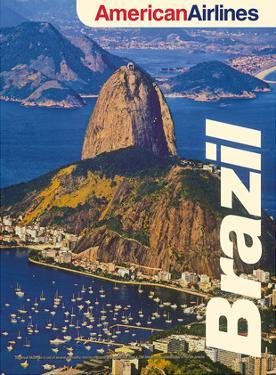 Brazil - Sugarloaf Mountain, Rio de Janeiro - American Airlines by Pacifica Island Art
