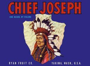 Chief Joseph Apples - Ryan Fruit Company - Washington State by Pacifica Island Art