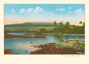 Coconut Island - Moku Ola (Island of Life) - Hilo Bay, Big Island, Hawaii by Pacifica Island Art