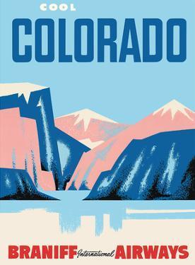 Cool Colorado - Braniff International Airways by Pacifica Island Art