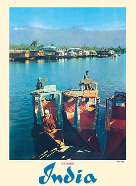 Dal Lake - Kashmir India - Srinagar's Jewel by Pacifica Island Art