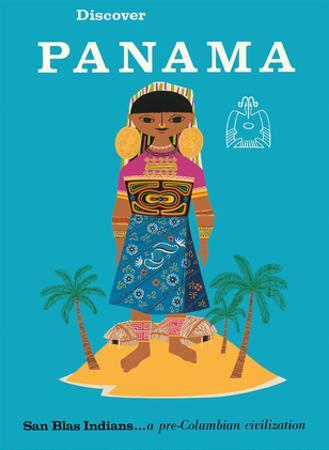 Discover Panama - San Blas Indians...a Pre-Columbian Civilization by Pacifica Island Art