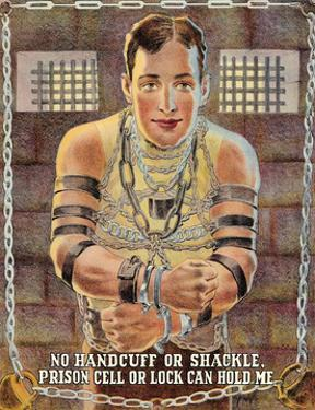 Escape Artist - No Handcuff Or Prison Cell Can Hold Me by Pacifica Island Art
