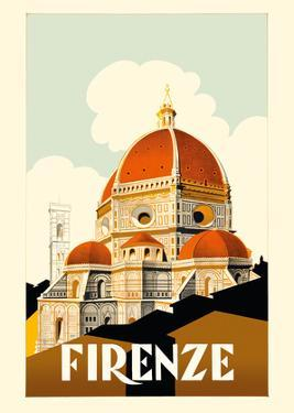 Florence (Firenze) Italy - Santa Maria del Fiore Cathedral, the Duomo of Florence by Pacifica Island Art
