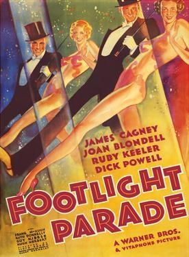 Footlight Parade - Starring James Cagney, Joan Blondell, Ruby Keeler, and Dick Powell - Musical by Pacifica Island Art