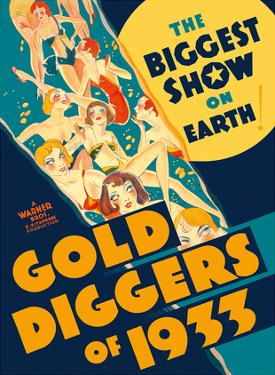 Gold Diggers of 1933 - Starring Warren William and Joan Blondell by Pacifica Island Art