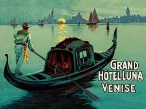 Grand Hotel Luna - Venice (Venise) Italy by Pacifica Island Art