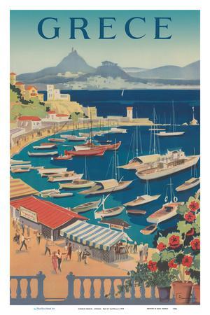 Greece (Grece) - Athens - Bay of Castella