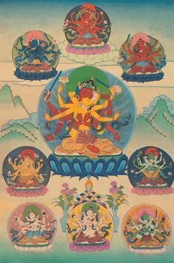 Guhyasamaja (Tantra Deity) by Pacifica Island Art