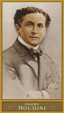 Harry Houdini - Illusionist and Stunt Performer by Pacifica Island Art