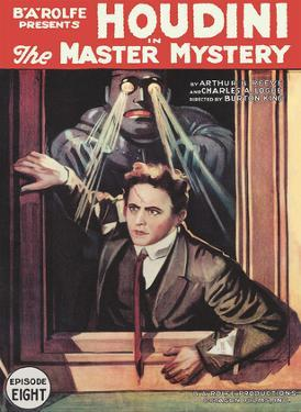 Harry Houdini in The Master Mystery - Episode Eight by Pacifica Island Art