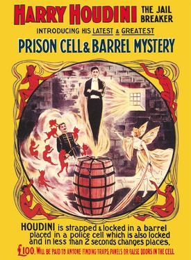 Harry Houdini - The Jail Breaker by Pacifica Island Art