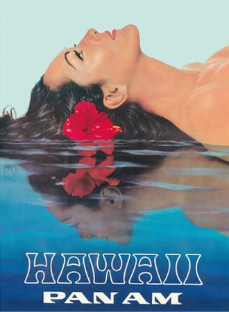 Hawaii - Pan American by Pacifica Island Art