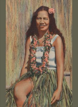 Hawaiian Hula Girl by Pacifica Island Art