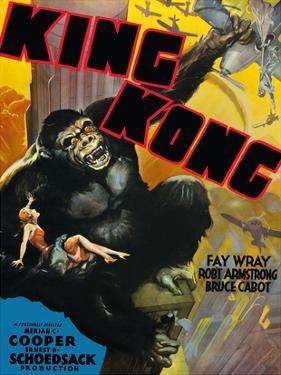 King Kong - Starring Fay Wray, Robert Armstrong, Bruce Cabot by Pacifica Island Art