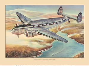 Lockheed Model 18 Lodestar - Pan American World Airways by Pacifica Island Art