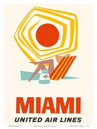 Miami, Florida - United Air Lines