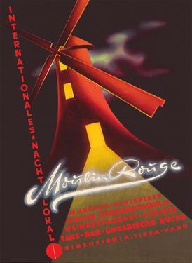 Moulin Rouge - International Nightclub (Nacht Lokal) - Munich, Germany by Pacifica Island Art