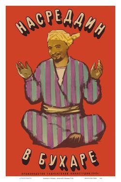 Nasreddin in Bukhara - Soviet Comedy by Pacifica Island Art