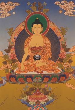 Shakyamuni Buddha in Bhumisparsha Mudra (Touching the Earth) by Pacifica Island Art