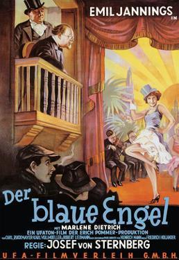 The Blue Angel (Der Blaue Engel) - Emil Jannings, Marlene Dietrich by Pacifica Island Art