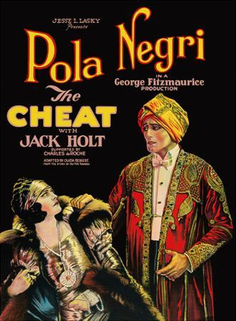 The Cheat - Starring Pola Negri and Jack Holt by Pacifica Island Art