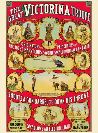 The Great Victorina Troupe - Traveling Magic and Novelty Show