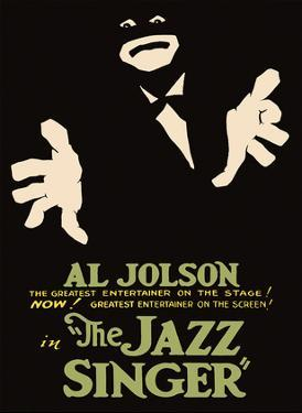 The Jazz Singer - Starring Al Jolson & May McAvoy by Pacifica Island Art