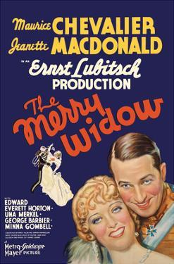The Merry Widow - Starring Maurice Chevalier and Jeanette MacDonald - Directed by Ernst Lubitsch by Pacifica Island Art