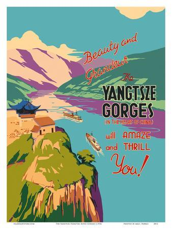 The Yangtsze (Yangtze) River Gorges
