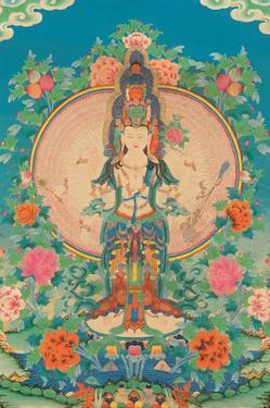 Thousand-armed Avalokiteshvara, Bodhisattva by Pacifica Island Art