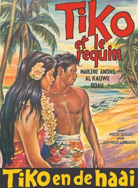 Tiko and the Shark (Tiko et le Requin) - Starring Marlene Among and Roau by Pacifica Island Art